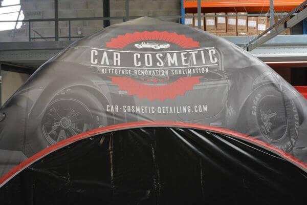 Toit imprimé de tente gonflable Car Cosmetic
