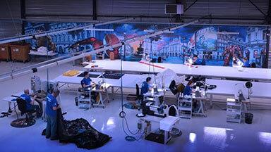 Atelier de fabrication LPTENT