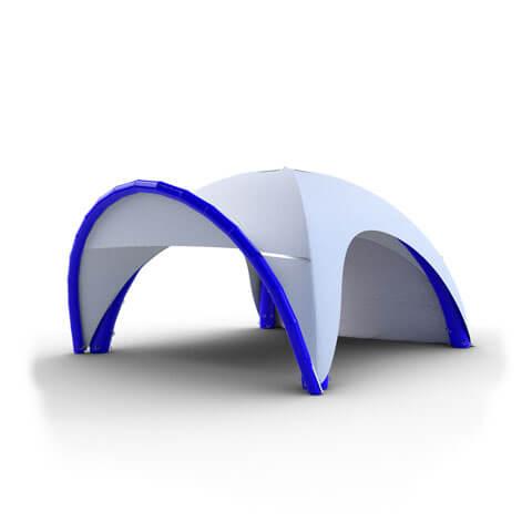 Tente gonflable publicitaire 5x5m