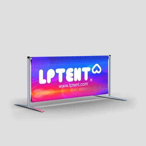 Barrière Vision banderole imprimée Display