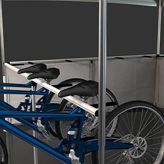 Rack à vélo pour stand pliant