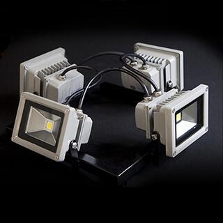 Kit de spots LED 4x10W