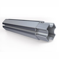Profilé de tente en aluminium diamètre 50mm