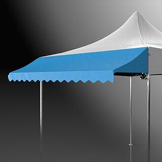 Casquette de tente pliante et stand de marché
