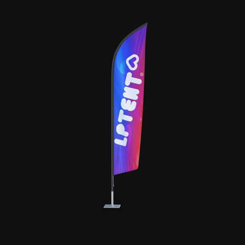 Oriflamme et drapeau