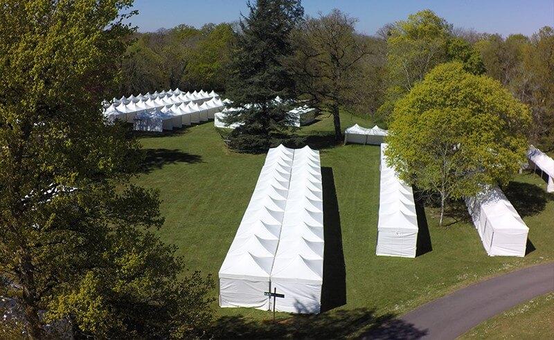 Location de tentes pliantes de professionnel à professionnel