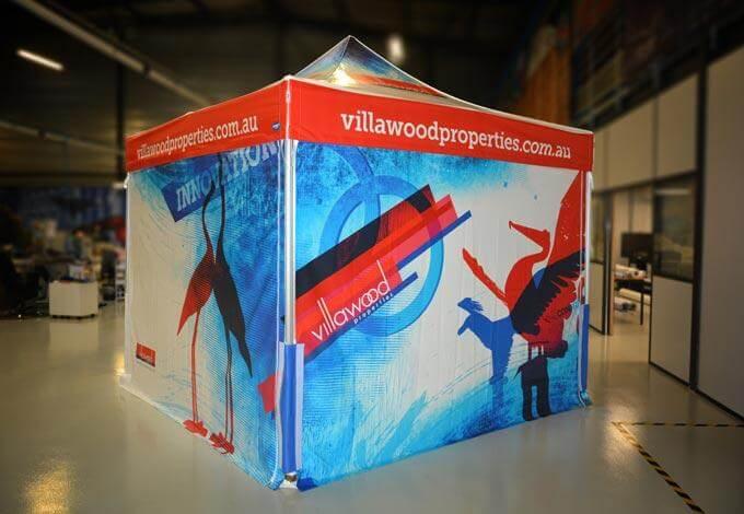 Stand pliant publicitaire Villawood 3x3