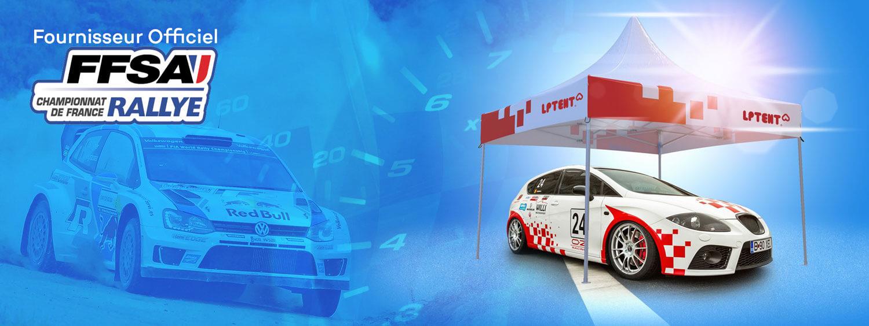 LPTENT fournisseur officiel de la FFSA rallye