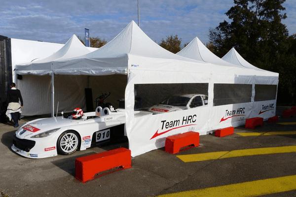Paddock de course CO 5x5m pour le team HRC