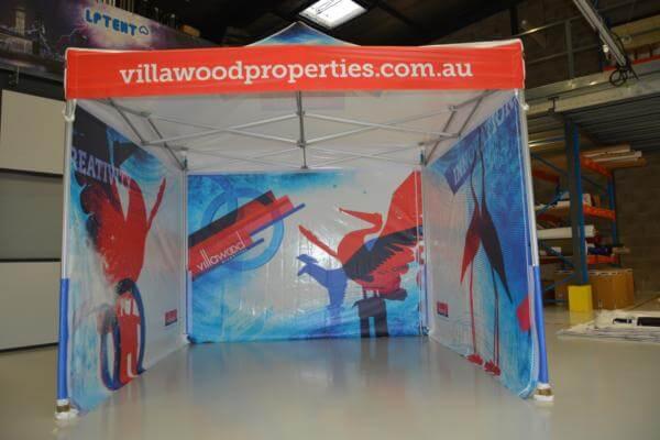 Stand pliant imprimé Villawood