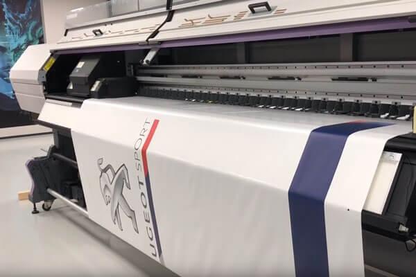 Imprimante UV pour l'impression de tente paddock
