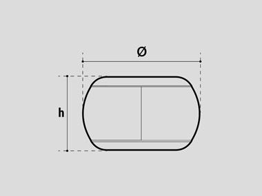 Pouf dimensions