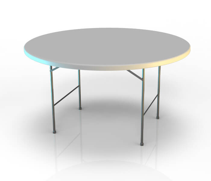 Table pliante ronde 150 ou 180cm