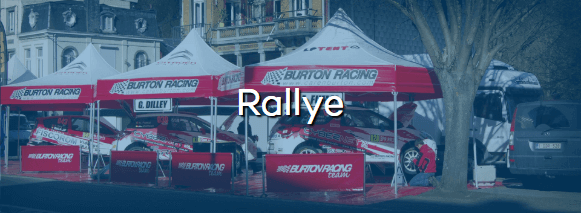 Page spéciale Tente paddock rallye