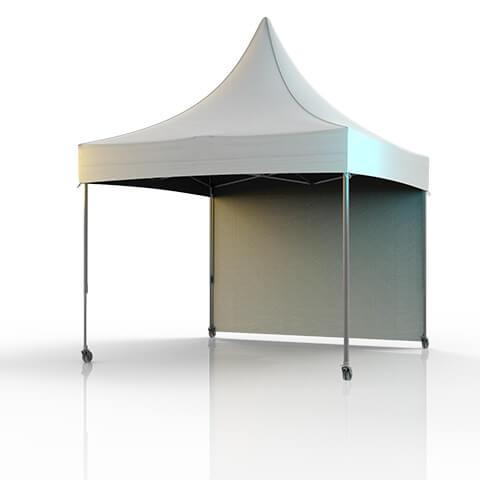 Tente barnum Pro 4x4 GP avec roulettes