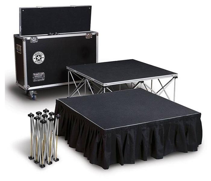Scène pliante portable ou podium pliable