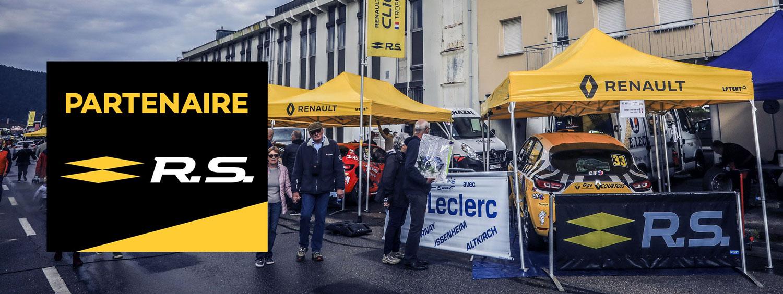 Partenaire Renault Sport Rallye
