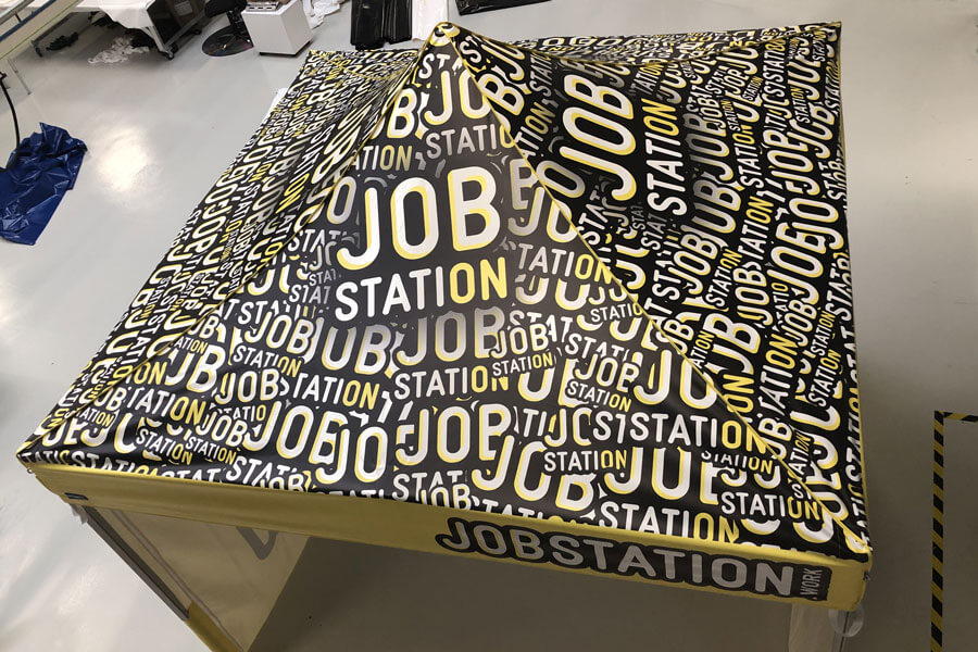 Toit stand parapluie JobStation