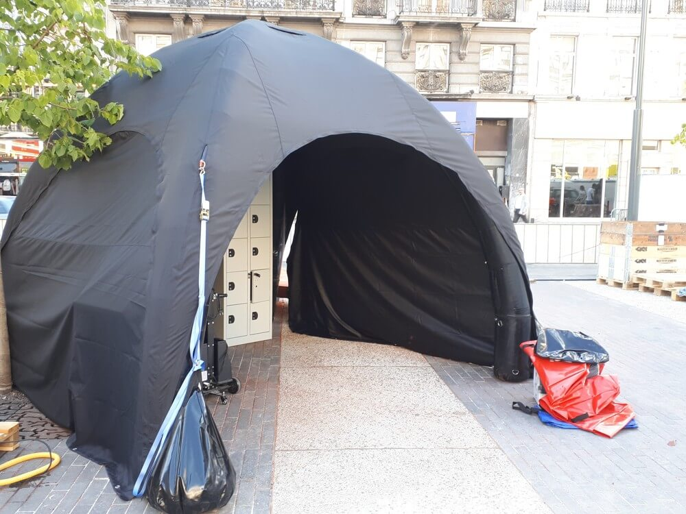 Tente gonflable AirMonster 3x3m pour ASO