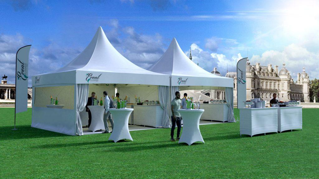 location de tente pour événement