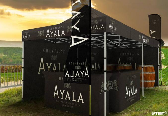 tente pliante Champagne Ayala