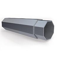 Profilé de tente pliante CO en aluminium 50mm