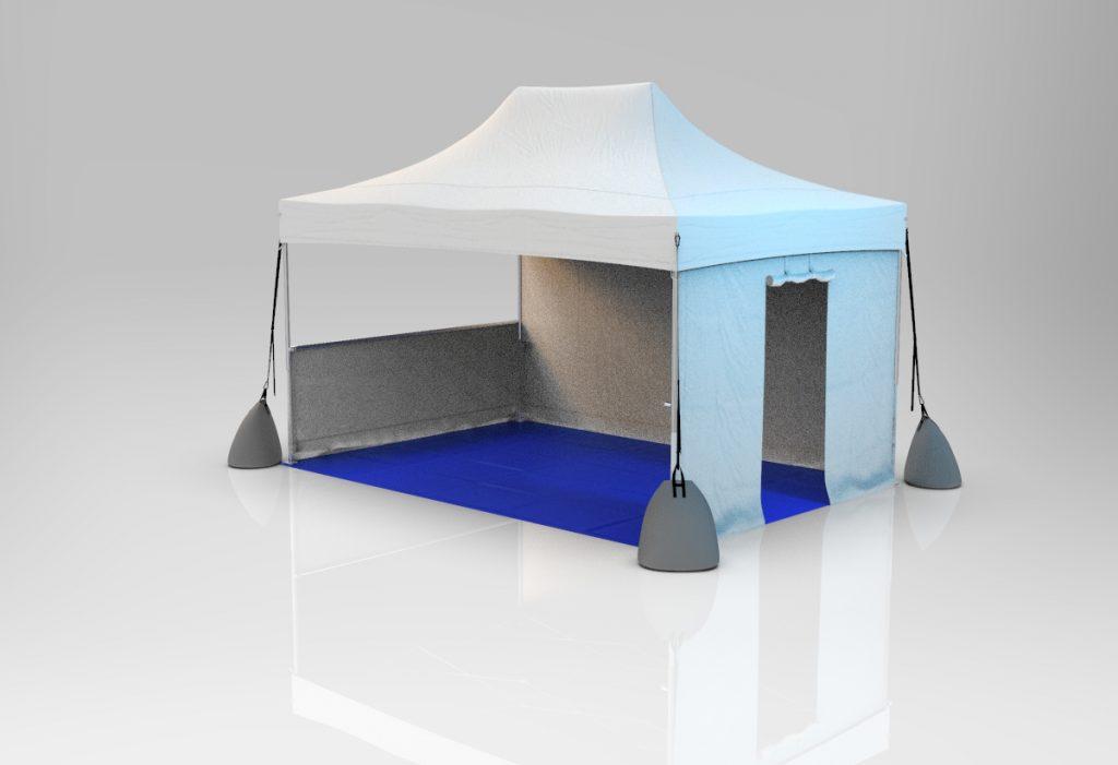 Tente paddock 3x4,5m LPTENT