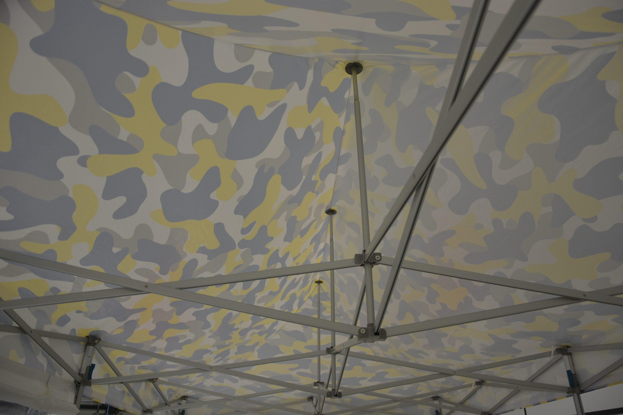 Tente pliante étanche 3x6 structure