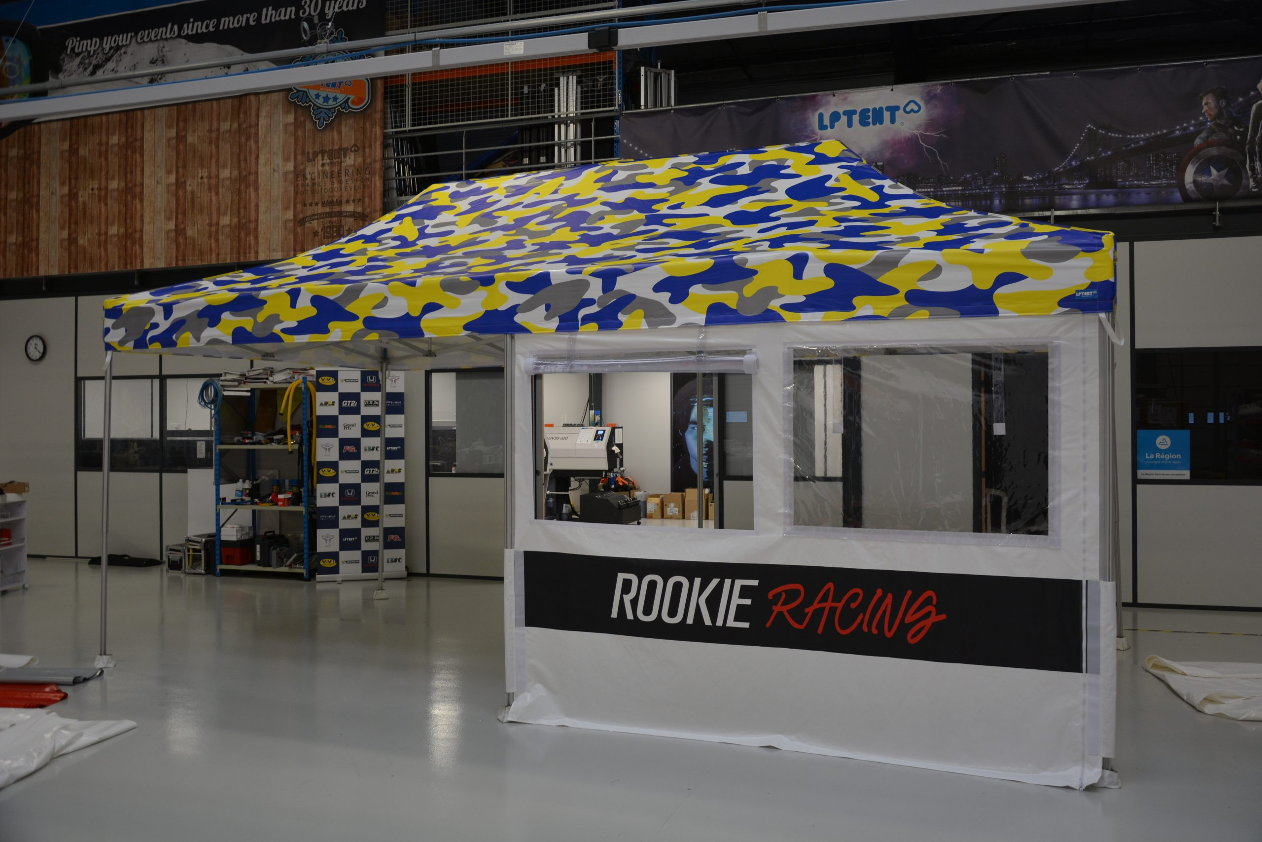Barnum pliant Rooxie Racing 3x6
