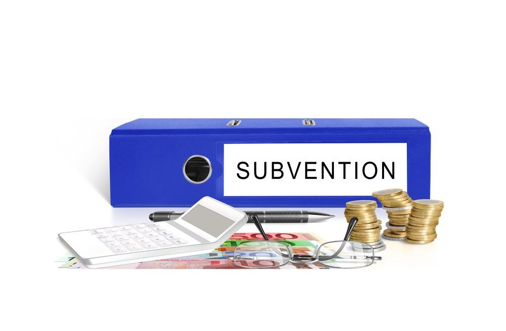 Subvention aide de l