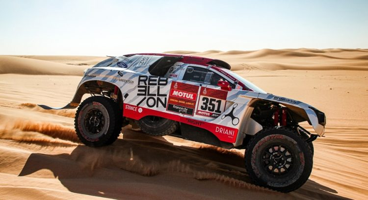 Rebellion Racing Paris Dakar