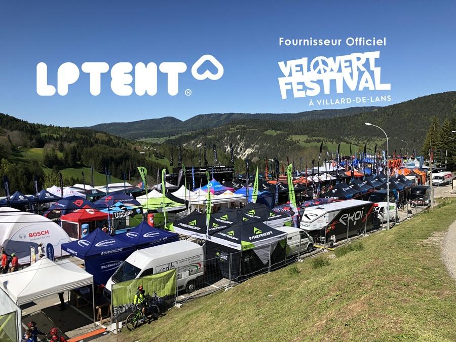LPTENT fournisseur officiel Vélo Vert Festival