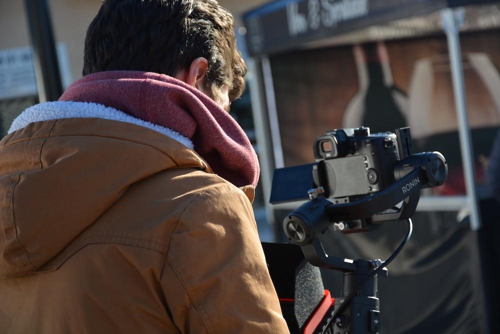 LPTENT coulisse tournage vidéo