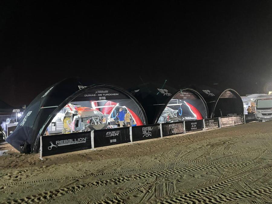 Rebellion Racing Dakar LPTENT