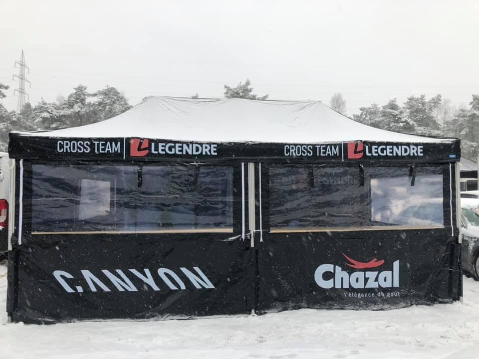 Tente pliante xp 3x6 cross team legendre neige