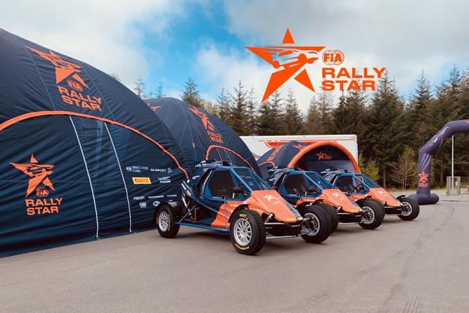 Stand gonflable LPTENT pour promouvoir RallyStar FIA