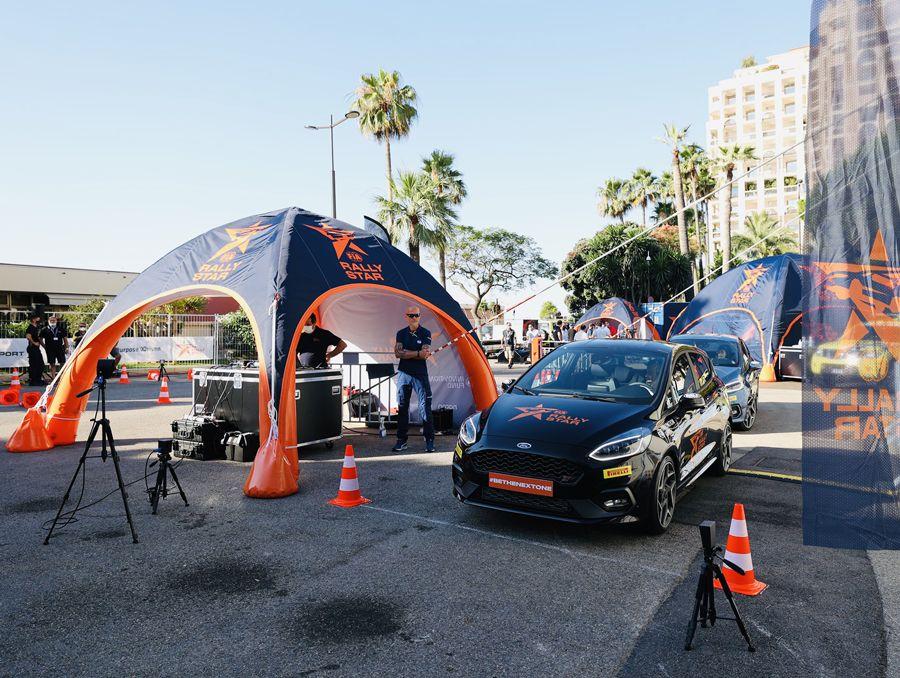 Evenement RallyStar avec tentes gonflables LPTENT