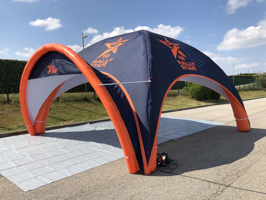 Tente gonflable Airmonster pour Rally Star FIA
